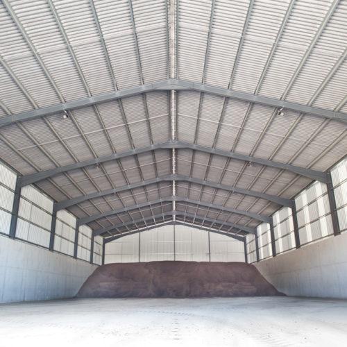 Bâtiment de stockage à Beauquesne